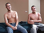 Despite having been fucked before, Jamie's thick cock was proving somewhat of a challenge for Jason and he was finding it hard to relax into gett