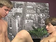 Light brown hair white dick gay porn pic and male nude facial at Boy Crush!