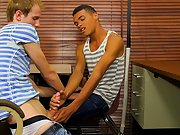 Black hung dick and black white twink gay young boys at Teach Twinks