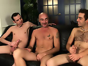 Group male sex and gay men group sex