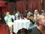 Gay group sex party and one guy sex group at Sausage Party
