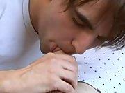 Boy kiss boy anal and hot horny men mooning at EuroCreme
