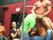Male group masturbation stories and multiple men group sex at Sausage Party