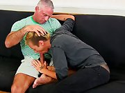 Sexy gay boys iran and young males shooting off at Bang Me Sugar Daddy
