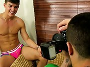 Long haired guys jacking off and short clip of white gays xxx at Boy Crush!