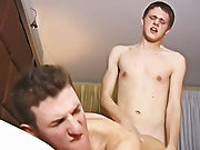 Man fucking boy and guys cums in ass then he licks it off at Teach Twinks