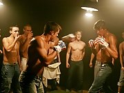 Each gay stud gets a turn to force his cock into Michael's complaisant mouth gay gang bangs orgy group sex