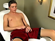 Teagan continues to jerk off until he spews his load over his rock hard chest sexy gay twink videos