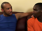 His first huge cock gay interracial story