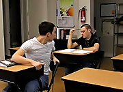 They are handsome young men and they kiss, caress and suck dick very correctly gay   my first blow job at Teach Twinks