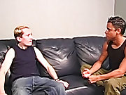 """Hey man, I indigence possibly I can fuck your butt"" said Ricky interracial gay sex porn"