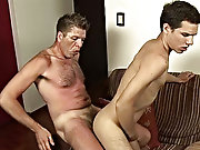 The twink was working hard on the cock while his partner reached for his tight spicy ass which soon got packed with dick which led the hunk to creamin