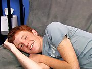 Cute Redhead Alan Parish lays back for a sexy interview with the director and a hot jackoff sesh gay twinks fucking at Boy Crush!