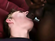 His first huge cock group sex one guy
