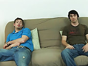 Jeremy wasn't too far behind him as only a few minutes later, he shot all over his stomach and pubes free gay blowjob pix