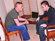Jeremy was a twink in need of some serious sphincter slamming, so when he met John he couldn't help notice the unstinted  in John's jeans ga